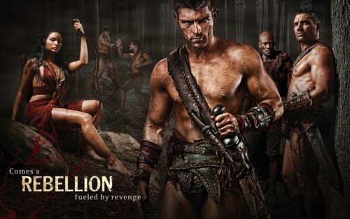 Spartacus: Vengeance- Promo Photos