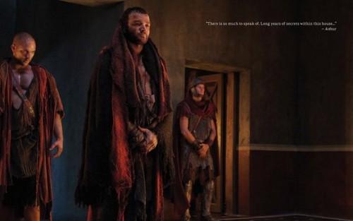 Spartacus: Vengeance- Promo mga litrato