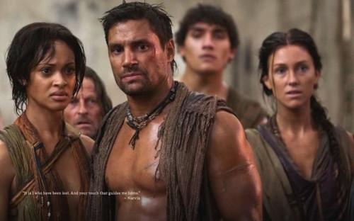 Spartacus: Vengeance- Promo picha