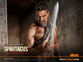 Crixus - spartacus-blood-and-sand wallpaper