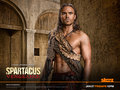 Gannicus - spartacus-blood-and-sand wallpaper