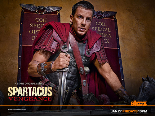 Gaius Claudius Glaber - spartacus-blood-and-sand Wallpaper