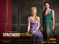 Ilithyia & Lucretia - spartacus-blood-and-sand wallpaper