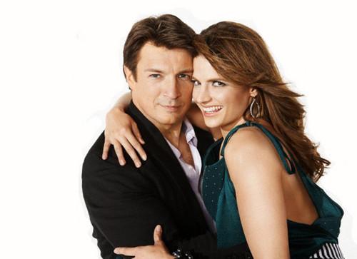 Stana and Nathan <3
