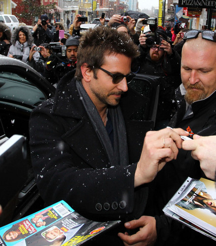 Stars Braving The Snow At The Sundance Film Festival In Park City