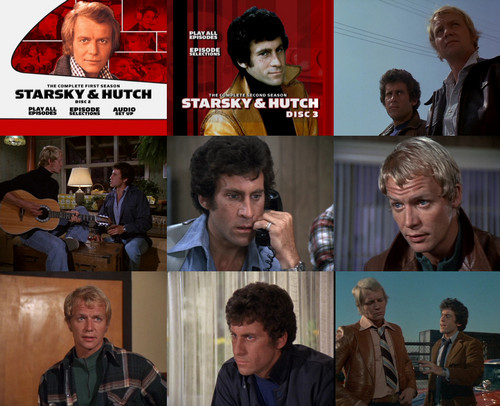 Starsky and Hutch (1975) 壁纸 called Starsky & Hutch collage