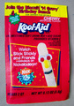 Stick Stickly on an Old Kool-Aid Packet!
