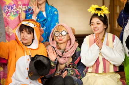 Sunny and Hyoyeon @ KBS Invincible Youth S2