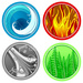 T4E - the-four-elements icon