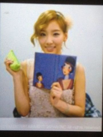 Taeyeon @ Japanese Mobile Fansite Picture