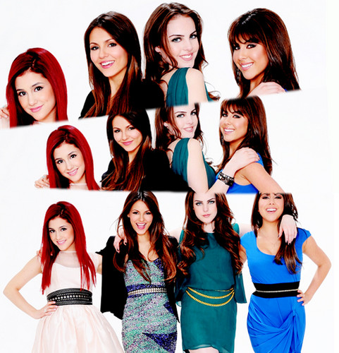 The 4 Girls Who Acted In Victorious ♥