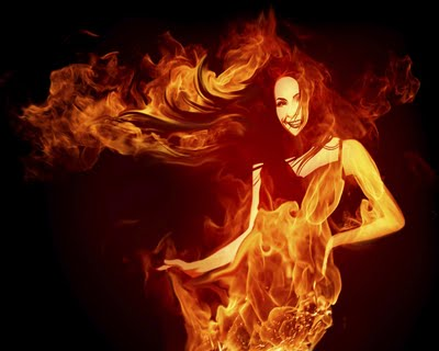The Four Elements پیپر وال containing a آگ کے, آگ titled The Fire's Keeper