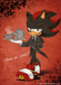 The butler - shadow-the-hedgehog fan art