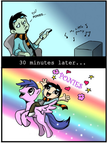 The process of becoming a Brony: