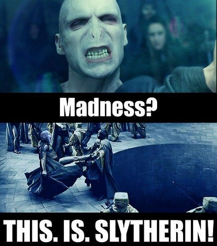 This. Is. Slytherin.
