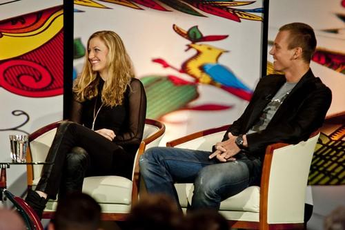 Tomas Berdych and Petra Kvitova new talk toon