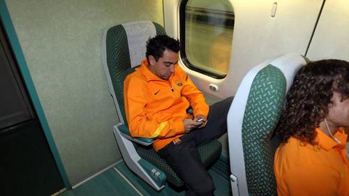 Travelling to Villarreal 의해 train