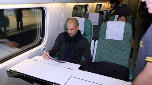 Travelling to Villarreal by train