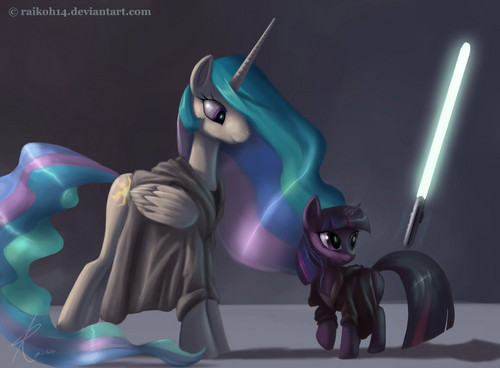Use the force, young Twilight Sparkle