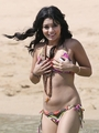 Vanessa Hudgens Has A Bikini tuktok Malfunction In Hawaii