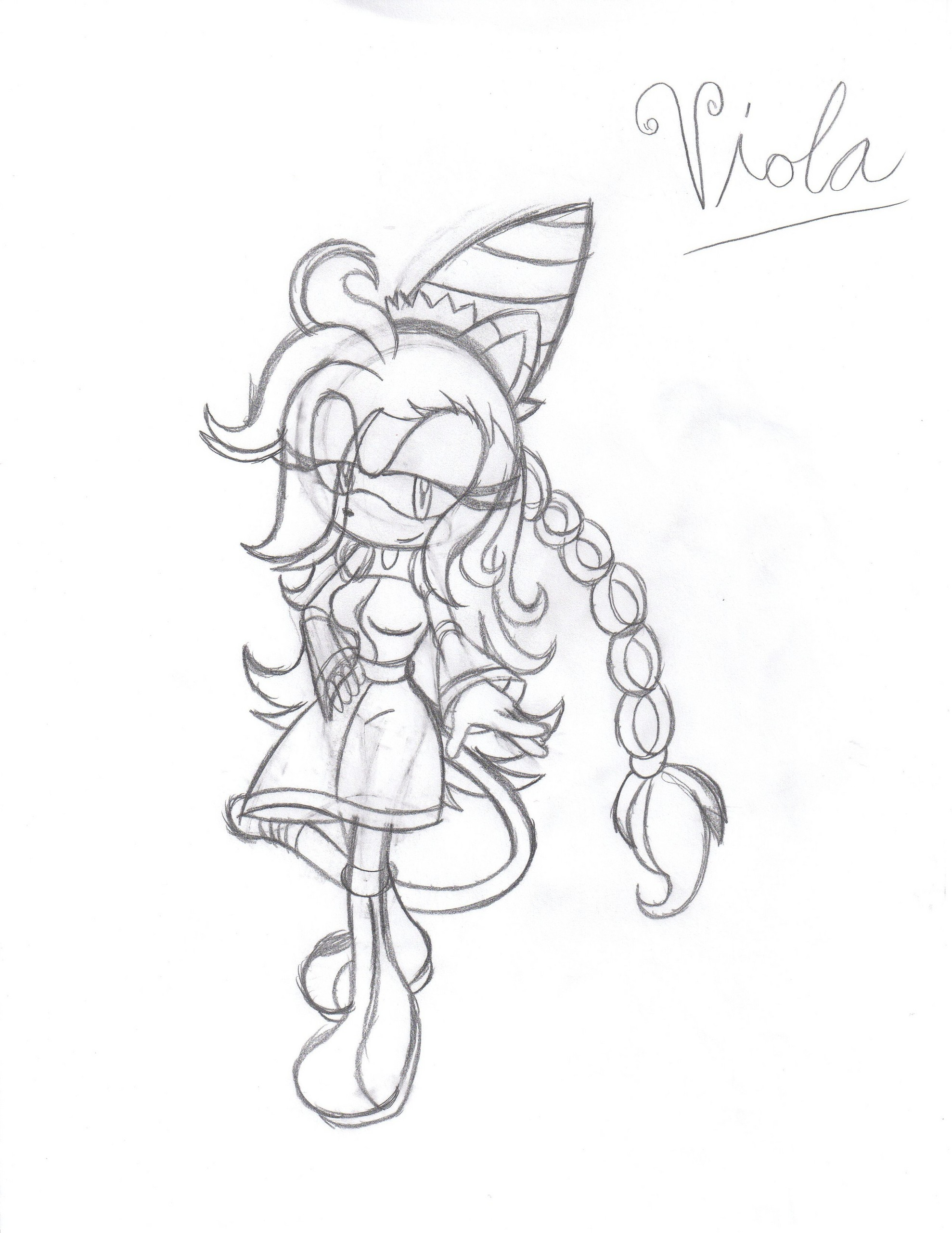 character sketch of viola