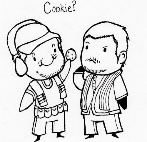 Wanna cookie?