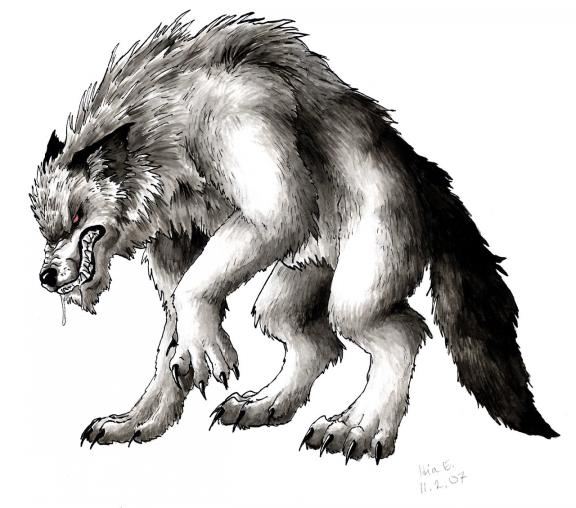 Mythical Wolf Creature Images amp Pictures Becuo