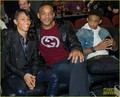 Will Smith: 76ers Game With Jada & Jaden! - will-smith photo