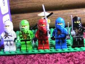 all of Ninjago ninja