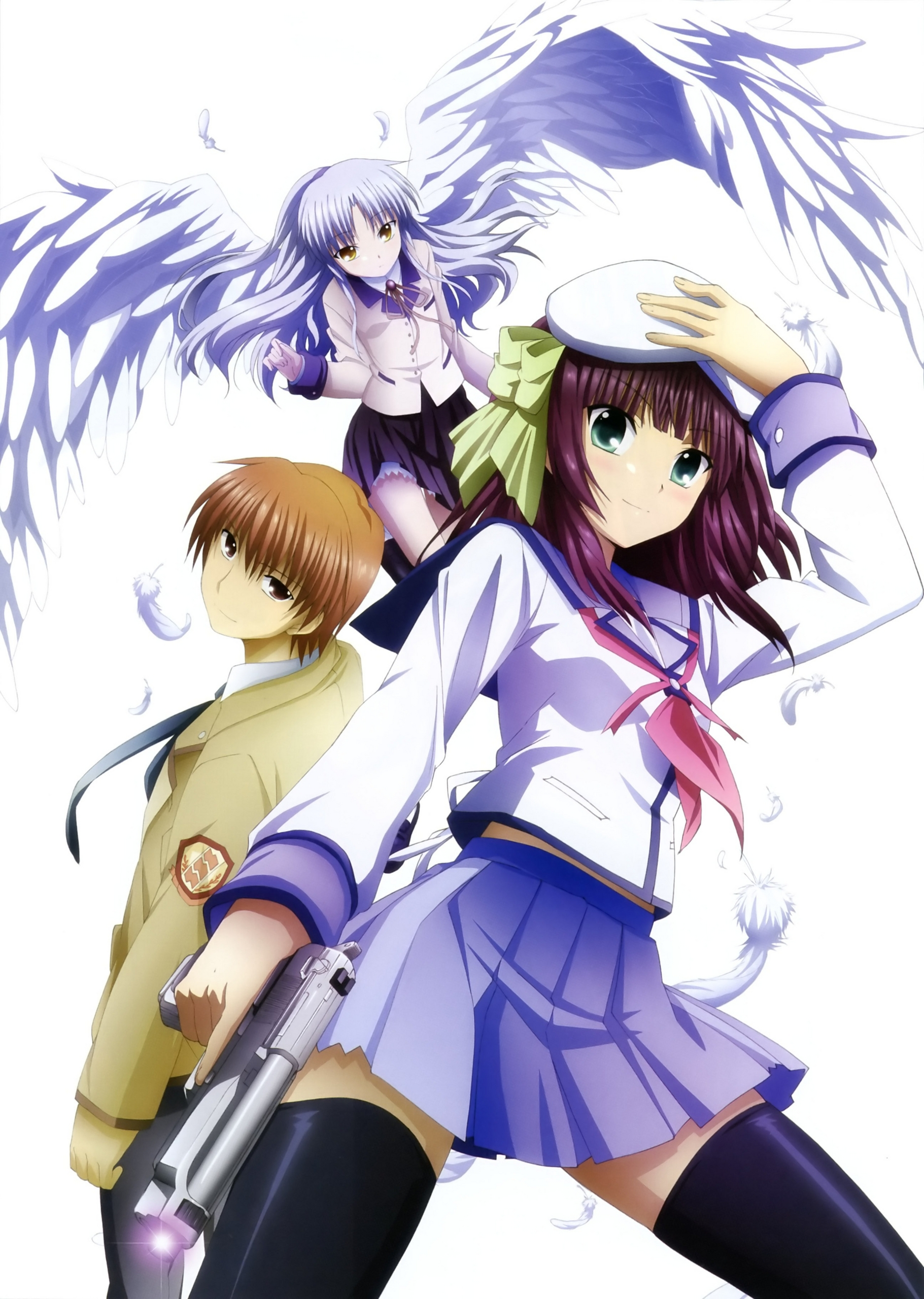 Anime images angel beats! HD wallpaper and background photos