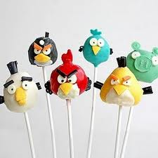 angry birds lollipop
