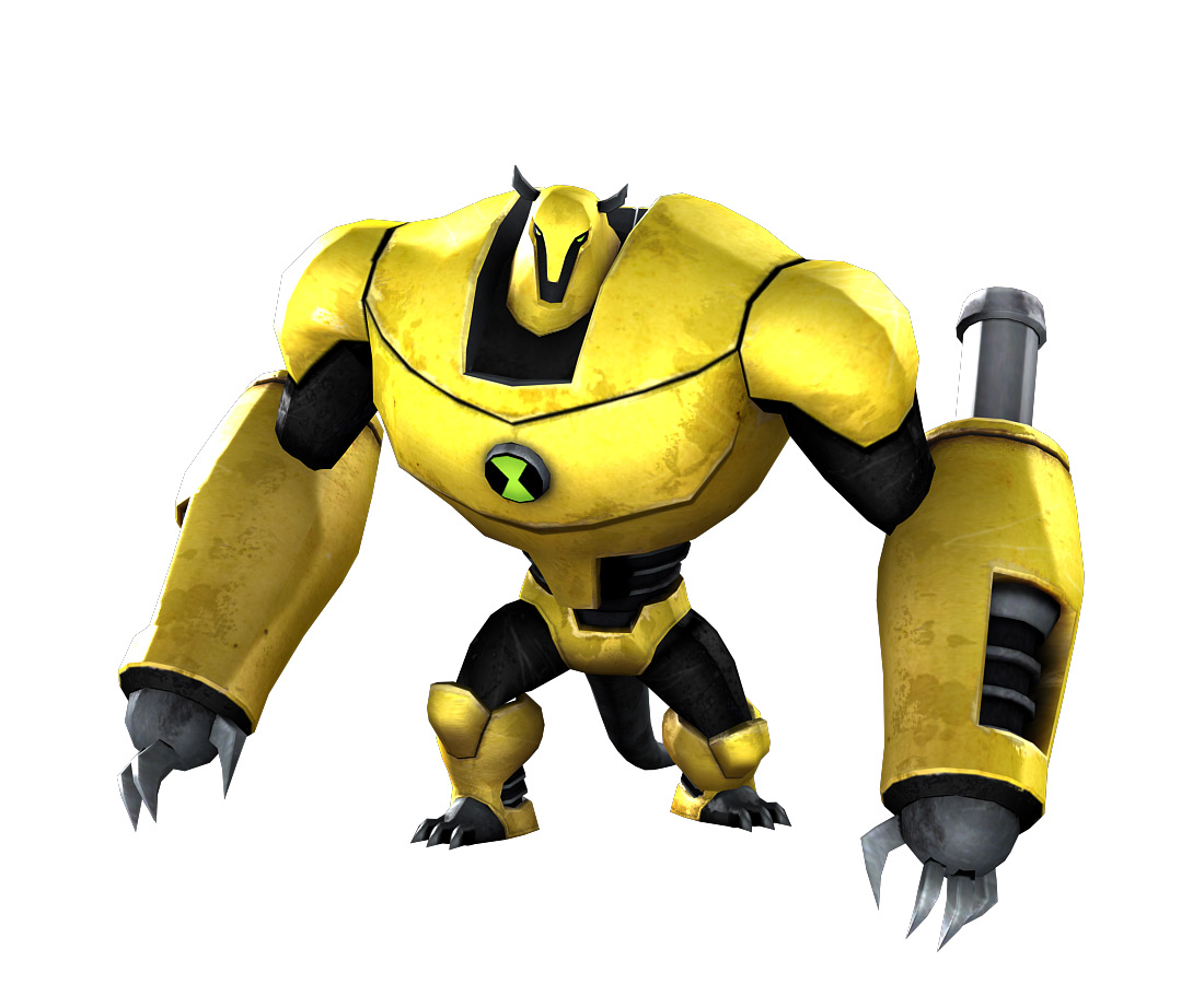 Ben 10  Ultimate Alien Armodrillo