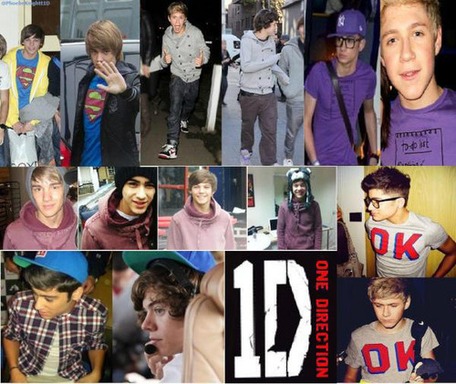 aww soo sweet, look at the way the boiz shares they clothes with eachother ! x :')