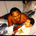 baby roc and daddy