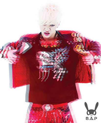 B.A.P karatasi la kupamba ukuta possibly with a blouse and a dashiki called bang yong guk ^^