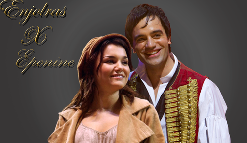 Les Miserables wolpeyper probably with a surcoat, a blouse, and a tabard titled enjolras an eponine
