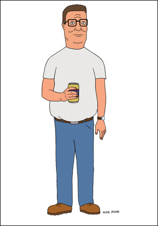 hank hill - king-of-the-hill Photo