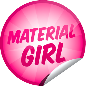Getglue Images Material Girl Sticker Wallpaper And