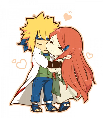 Minato Namikaze wallpaper containing anime entitled minato y kushina