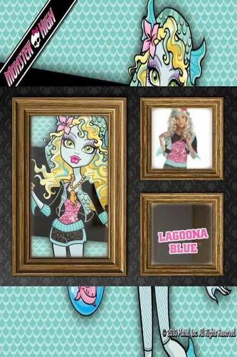 monster high character frames