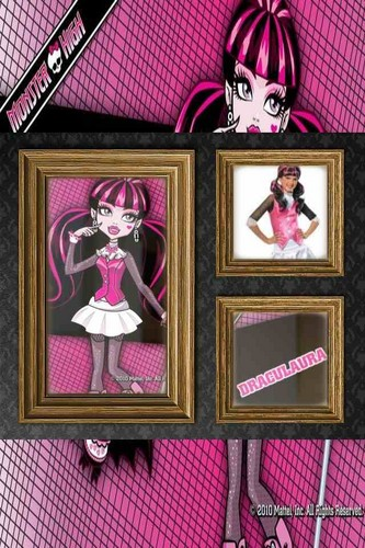 monster high character frames