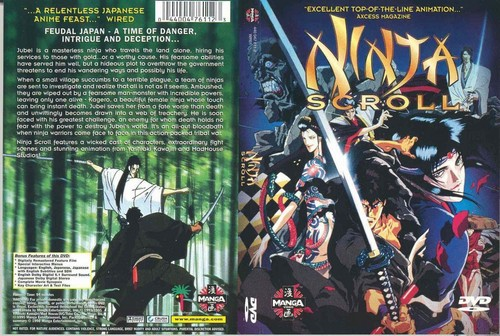 ninja scroll covers