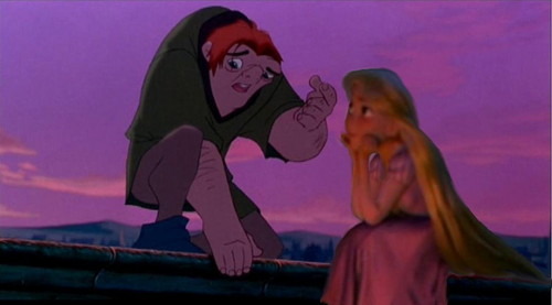 quasimodo and rapunzel