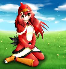 red bird anime