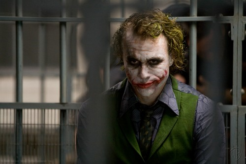 The Joker kertas dinding containing a holding cell, a penal institution, and a jail called the joker