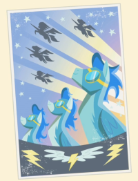 the wonderbolt poster