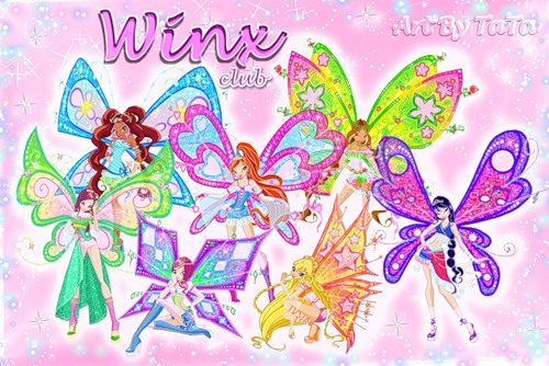 Winx Club Hintergrund entitled winx club