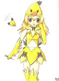 yellow bird anime