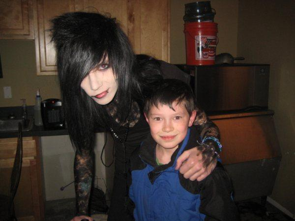 <3Andy & his cousin Troy<3