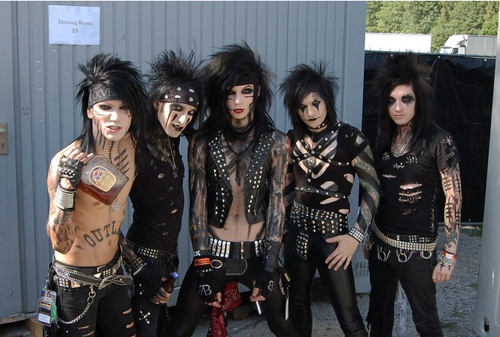 Fallen Angels BVB <3 wallpaper called <3Black Veil Brides<3